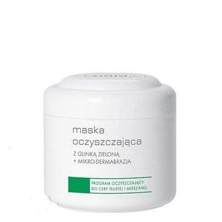 Ziaja PRO - MASKA ściągająca i oczyszczająca z glinką zieloną, 250 ml.