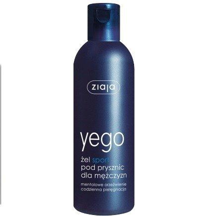 Ziaja - Yego - ŻEL myjący pod prysznic SPORT o działaniu energetyzujacym, 300 ml.