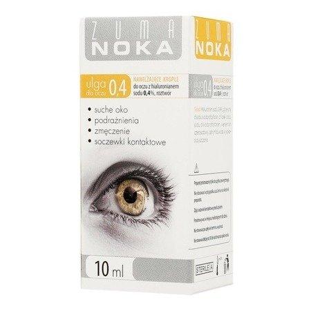 Zuma NOKA 0,4% - KROPLE nawilżające, 10 ml.