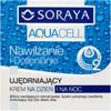 Soraya - Aquacell - KREM ujędrniający na DZIEŃ i NOC, 50 ml.
